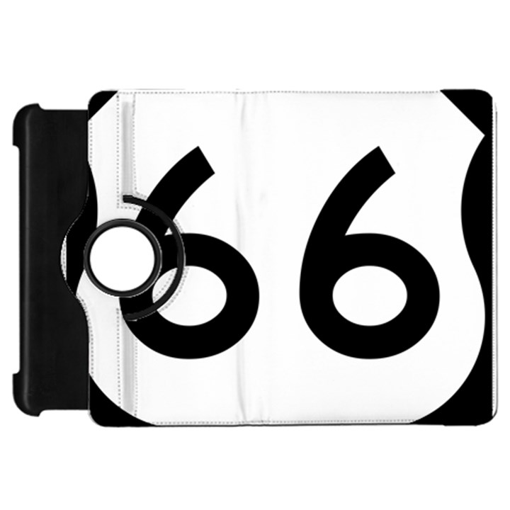 U.S. Route 66 Kindle Fire HD Flip 360 Case