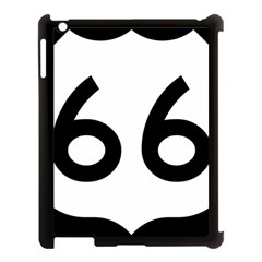 U S  Route 66 Apple Ipad 3/4 Case (black) by abbeyz71