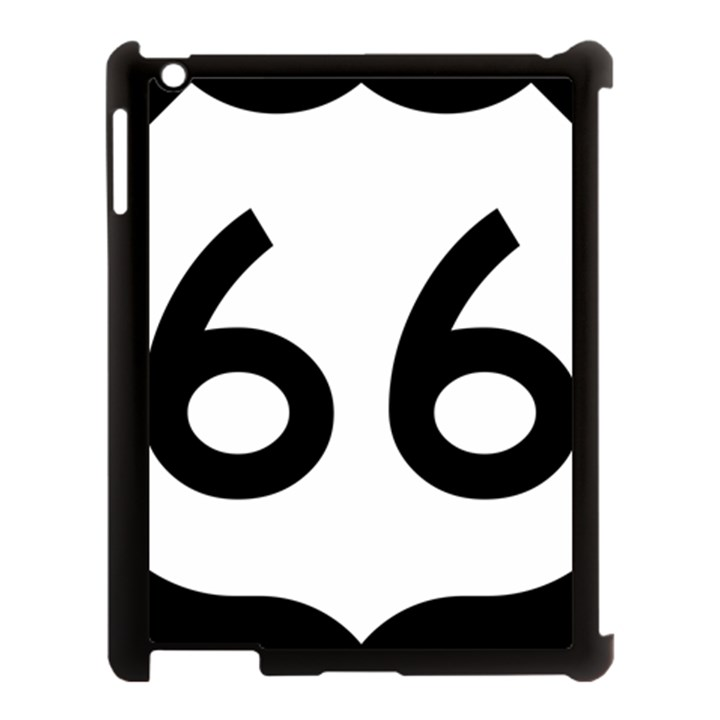 U.S. Route 66 Apple iPad 3/4 Case (Black)