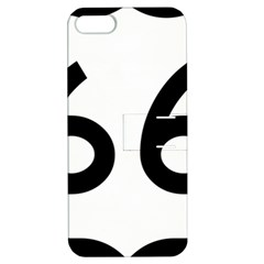 U S  Route 66 Apple Iphone 5 Hardshell Case With Stand