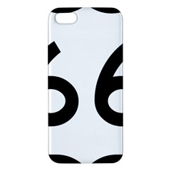 U S  Route 66 Apple Iphone 5 Premium Hardshell Case