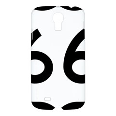 U S  Route 66 Samsung Galaxy S4 I9500/i9505 Hardshell Case by abbeyz71