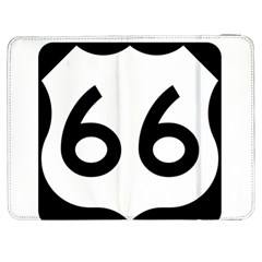 U S  Route 66 Samsung Galaxy Tab 7  P1000 Flip Case by abbeyz71