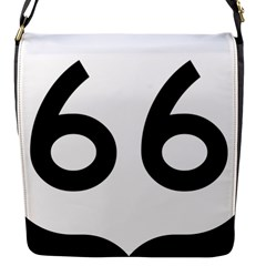 U S  Route 66 Flap Messenger Bag (s)