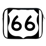 U.S. Route 66 Apple iPad 2/3/4 Zipper Cases
