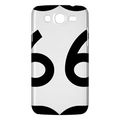 U S  Route 66 Samsung Galaxy Mega 5 8 I9152 Hardshell Case  by abbeyz71