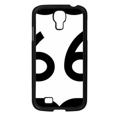 U S  Route 66 Samsung Galaxy S4 I9500/ I9505 Case (black) by abbeyz71
