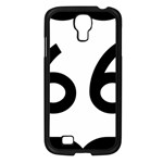 U.S. Route 66 Samsung Galaxy S4 I9500/ I9505 Case (Black) Front