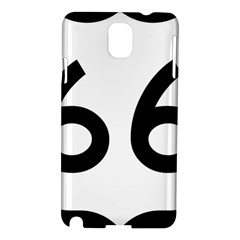 U S  Route 66 Samsung Galaxy Note 3 N9005 Hardshell Case by abbeyz71