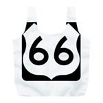 U.S. Route 66 Full Print Recycle Bags (L)