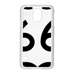 U S  Route 66 Samsung Galaxy S5 Case (white) by abbeyz71