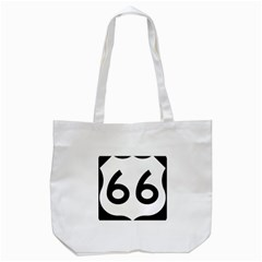 U S  Route 66 Tote Bag (white) by abbeyz71