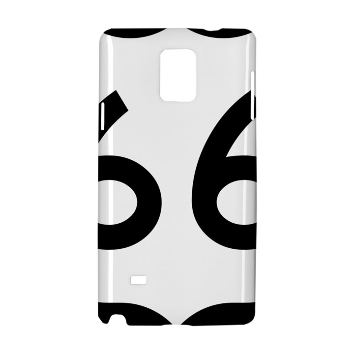 U.S. Route 66 Samsung Galaxy Note 4 Hardshell Case