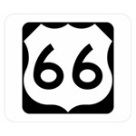 U.S. Route 66 Double Sided Flano Blanket (Small)