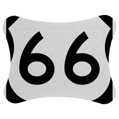 U S  Route 66 Jigsaw Puzzle Photo Stand (bow) by abbeyz71