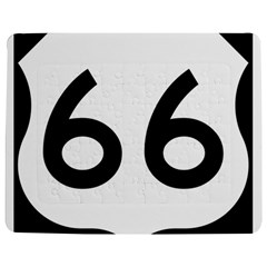 U S  Route 66 Jigsaw Puzzle Photo Stand (rectangular) by abbeyz71