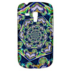 Power Spiral Polygon Blue Green White Samsung Galaxy S3 Mini I8190 Hardshell Case