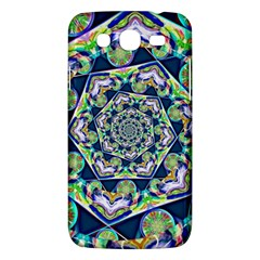 Power Spiral Polygon Blue Green White Samsung Galaxy Mega 5 8 I9152 Hardshell Case