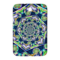 Power Spiral Polygon Blue Green White Samsung Galaxy Note 8 0 N5100 Hardshell Case