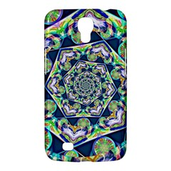 Power Spiral Polygon Blue Green White Samsung Galaxy Mega 6 3  I9200 Hardshell Case