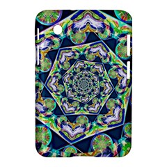 Power Spiral Polygon Blue Green White Samsung Galaxy Tab 2 (7 ) P3100 Hardshell Case