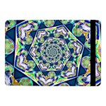 Power Spiral Polygon Blue Green White Samsung Galaxy Tab Pro 10.1  Flip Case Front