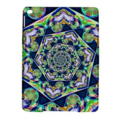 Power Spiral Polygon Blue Green White Ipad Air 2 Hardshell Cases