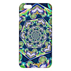 Power Spiral Polygon Blue Green White Iphone 6 Plus/6s Plus Tpu Case by EDDArt
