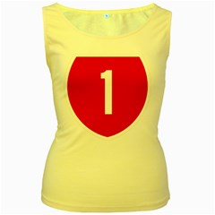 New Zealand State Highway 1 Women s Yellow Tank Top by abbeyz71