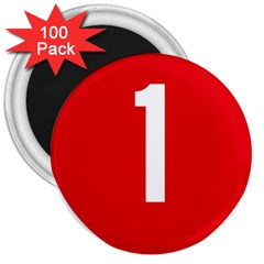 New Zealand State Highway 1 3  Magnets (100 pack)