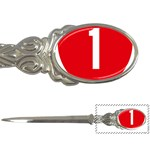 New Zealand State Highway 1 Letter Openers Front