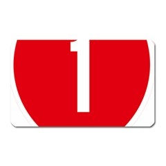 New Zealand State Highway 1 Magnet (Rectangular)