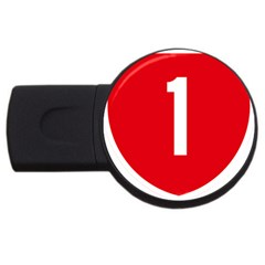 New Zealand State Highway 1 Usb Flash Drive Round (2 Gb)