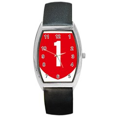 New Zealand State Highway 1 Barrel Style Metal Watch by abbeyz71