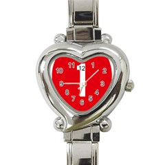 New Zealand State Highway 1 Heart Italian Charm Watch by abbeyz71