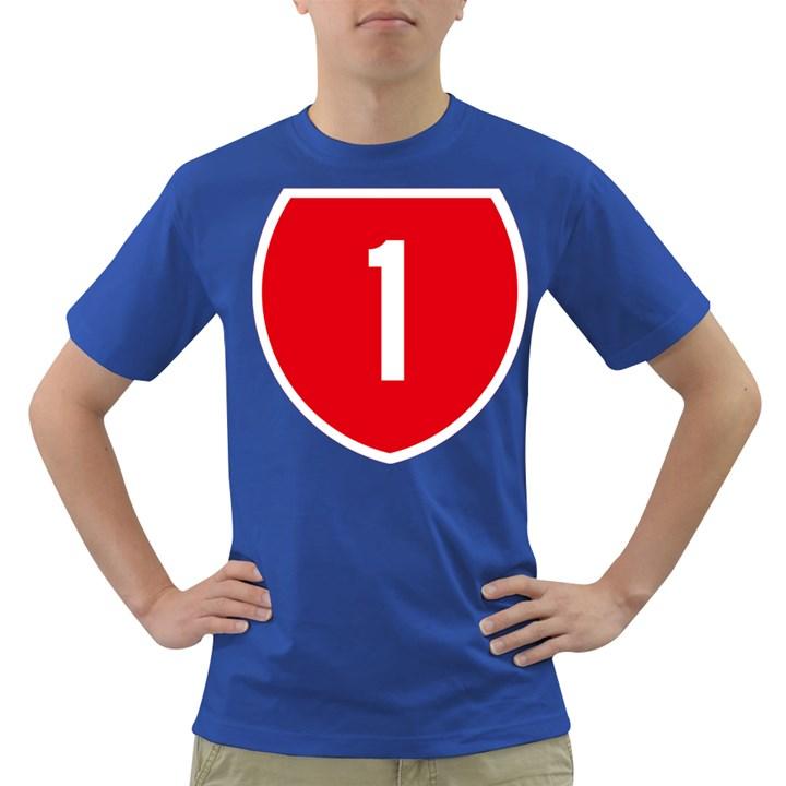 New Zealand State Highway 1 Dark T-Shirt