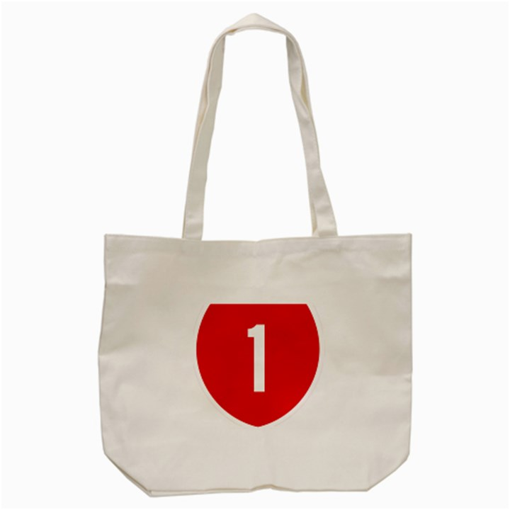 New Zealand State Highway 1 Tote Bag (Cream)