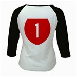 New Zealand State Highway 1 Kids Baseball Jerseys Back