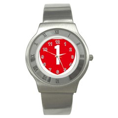 New Zealand State Highway 1 Stainless Steel Watch by abbeyz71