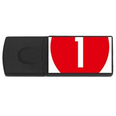 New Zealand State Highway 1 Usb Flash Drive Rectangular (4 Gb)  by abbeyz71