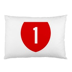 New Zealand State Highway 1 Pillow Case