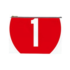 New Zealand State Highway 1 Cosmetic Bag (large)