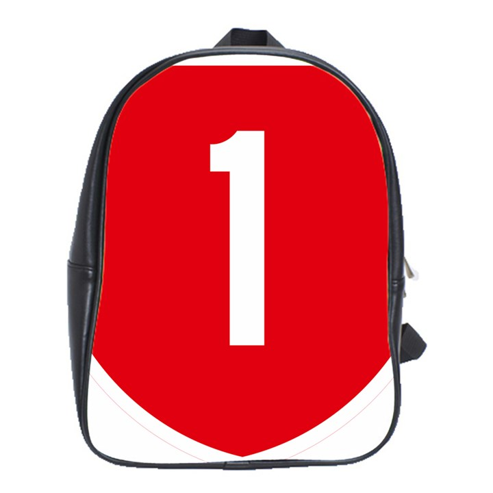 New Zealand State Highway 1 School Bags(Large)