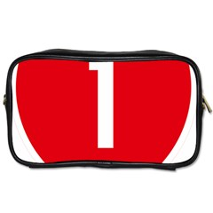 New Zealand State Highway 1 Toiletries Bags 2 Side