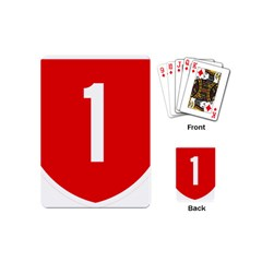 New Zealand State Highway 1 Playing Cards (Mini)