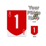 New Zealand State Highway 1 Playing Cards 54 (Mini)  Front - Heart2