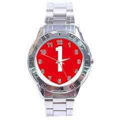 New Zealand State Highway 1 Stainless Steel Analogue Watch by abbeyz71
