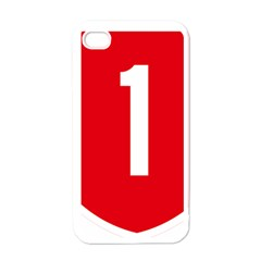 New Zealand State Highway 1 Apple iPhone 4 Case (White)