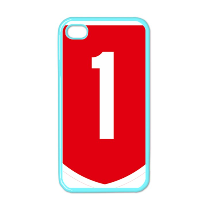 New Zealand State Highway 1 Apple iPhone 4 Case (Color)