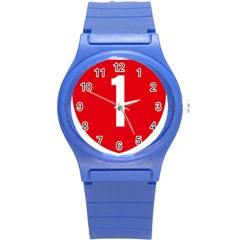New Zealand State Highway 1 Round Plastic Sport Watch (s) by abbeyz71